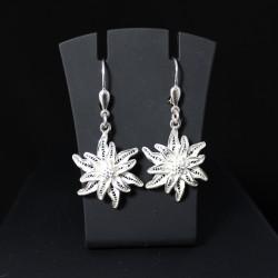 Edelweiss - Ohrhänger 320